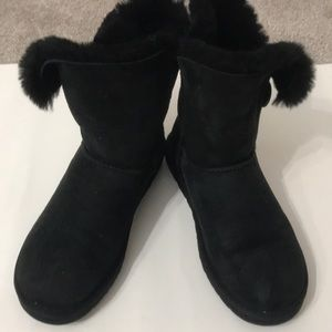Ugg boot black size 8 in Excellent condition